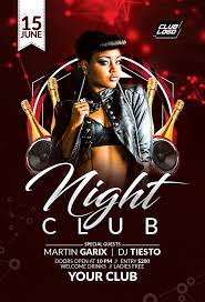 Night Club Flyer - Miscellaneous Print Templates | Codester