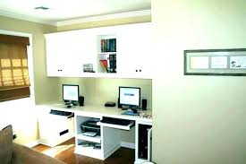 two desk office. 2 Person Home Office Desk For Two  Design W