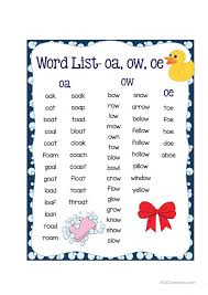 Vowel digraph oo, ou, ew, aw, ow phonics worksheets and teaching resources. Phonics Ow Sound English Esl Worksheets For Distance Learning And Physical Classrooms