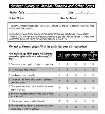 Surveys Formats 14 Student Survey Templates Pdf Doc Free Premium