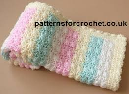 Crochet Patterns For Baby Blankets Awesome Free baby crochet patterns candy afghan blanket usa