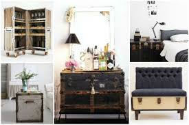 Over on eHow: Decorating With Trunks