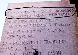 Image result for google images georgia guidestones
