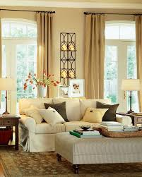 Living Room Classic Decorating Round Mirror On The Wall Between Frame Decor Classic Living Room