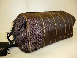 gainsborough mens toilet bag brown