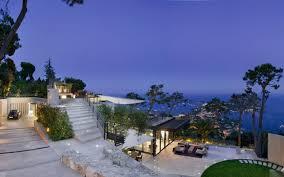 view modern house lights. Exterior Lighting Luxury Modern Villa House Design With White Marble Flooring Tile Plus Landscape Sea E View Lights