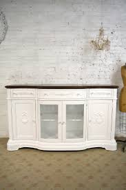 cottage chic furniture. Dining Table Painted Cottage Chic Shabby White French Buffer / S Furniture