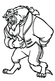 Disney Beauty And The Beast Coloring Pages Homelandsecuritynews