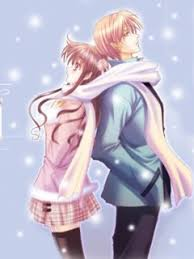 cute cartoon couple wallpapers for mobile 15 240 x 320