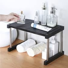050 useful stacking kitchen shelf household layered shelf dish rack platform storage rack water storage shelf
