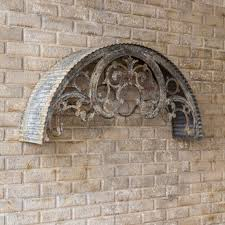 decorative metal window arch wall decor