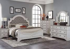 Raquel QUEEN Bedroom Set - White | Home Furniture + Mattress