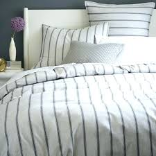 ticking stripe bedding incredible best duvet cover images on intended for striped ti