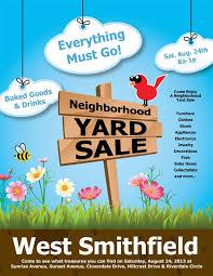 Yard Sale Flyer Ideas 20 Best Yard Sale Flyer Templates Psd Designs