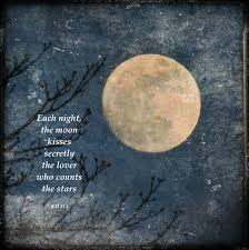 Beautiful Full Moon Quotes Best of Rumi Quote With Full Moon Moon Love Quote Golden Moon Tree