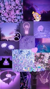 purple aesthetic background