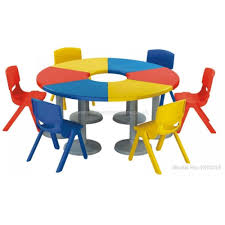 model no nursery school furniture round table and chairs set student desk chair more views farnichar childcare wholers science second hand preschool
