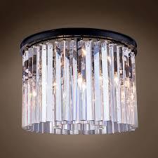 chandelier above kitchen table cassiel crystal chandelier rhys clear glass prism round chandelier restoration hardware quality restoration hardware filament