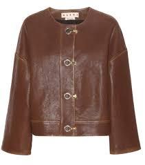 marni leather jacket brown women marni platform sandals marni sneaker utterly stylish