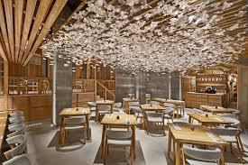 Image result for ceiling hanging design  Valencia SpainRestaurant Bar  DesignSushi ...