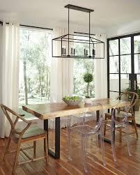 Linear Dining Room Lighting Perryton Linear Chandelier In Blacksmith 6615008 839 Lighting