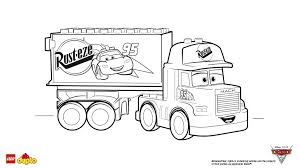 disney cars coloring pages mack. LEGO DUPLO Cars Mack Coloring Page And Disney Pages