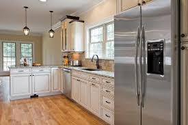 kitchen design white cabinets stainless appliances. Brilliant Appliances Kitchen Design White Cabinets Stainless Appliances Photo  4 In T
