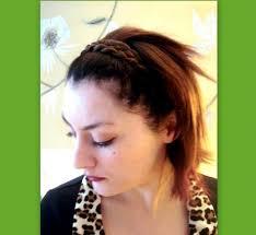 Hairband Hairstyle 5 strand braided headband braid plait wedding hair accessory 7514 by wearticles.com