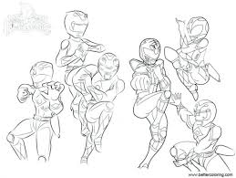 Power Rangers Ninja Steel Gold Ranger Coloring Pages For Adults