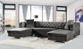 grey velvet sectional. Living Room: Brilliant Gray Velvet Sectional Sofa 12082 On Grey From G