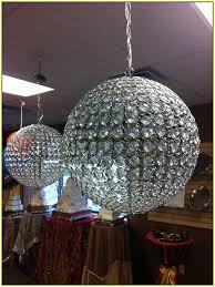 innovative round crystal ball chandelier crystal ball chandelier lighting fixture home design ideas
