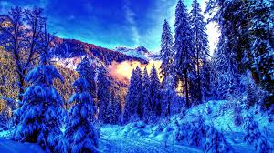 Winter in the mountains | Download Wallpapers