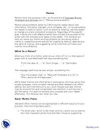 Memos Business Writing Memos Part 1 Communication In Business Lecture