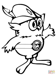 Woodsy Owl Coloring Page Kids Drawing And Coloring Pages - Marisa ...