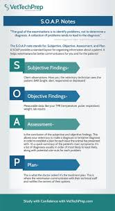 Subjective Objective Assessment Planning Note Infographic SOAP Notes 21