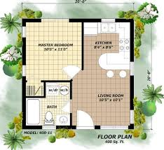 Home and Apartment, The Breathtaking Design Of 400 Square Foot House Plans  With Green Gras