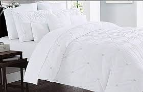 nicole miller duvet covers object pintuck forter sets ease bedding with style