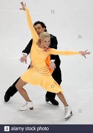 Kristin Fraser and Igor Lukanin of Azerbajan perform during their ...