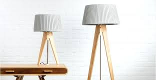 wood floor lamps light wood grey tripod floor lamp navy cable miller made wood floor lamp