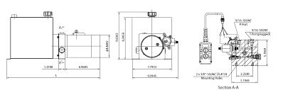 dlh fluid power inc – dump trailer Pj Dump Trailer Wiring Diagram Wireless Remote Control