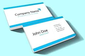 Business Card Template Powerpoint 2010 Medical Business Cards Templates Free