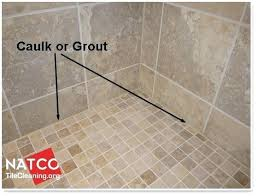 custom tile shower pan kit where should grout and caulk be installed in a or