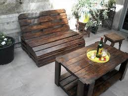 ... diy pallet outdoor seating set