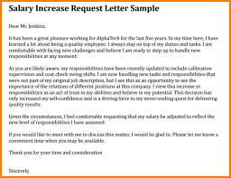 pay raise letter samples how write a pay raise letter increase in salary sample w 678 h auto