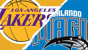 Orlando Magic Vs Los Angeles Lakers Amway Center