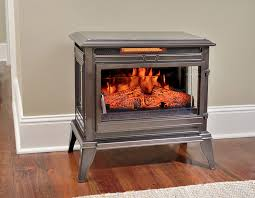 comfort smart jackson bronze infrared electric fireplace stove with remote control cs 25ir brz