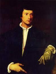 man with a glove 1520 louvre paris s