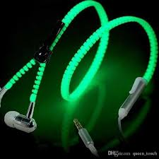 control lighting with iphone. Brilliant Lighting Zipper Led Earphone Light Up Luminous Headset Wired Control Lighting In Ear  Headphone With Mic For Pc Laptop Mp3 Mp4 Samsung Iphone Cell Phone  On