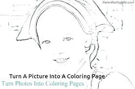 Make Pictures Into Coloring Pages Turn Photo Into Coloring Page