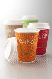 How To Design Paper Cup The Modern And Vibrant Design Comes In Four Eye Catching